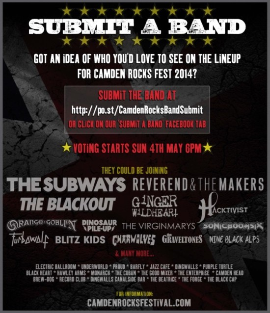 CRF Submit Band Competition Artwork